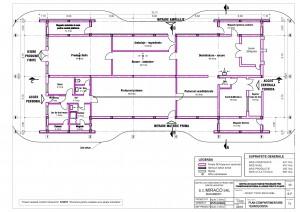 T01 - Plan compartimentare tehnologica